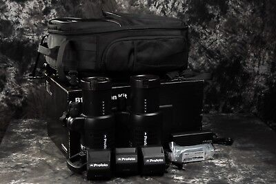 New Profoto B1X 500 AirTTL 2-Light Location Kit with Extra Battery