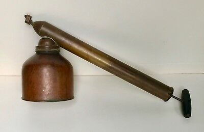 BLIZZARD  Continuous Sprayer by D.B. Smith & Co. Utica, NY - Copper & Brass