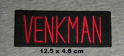 GhostBusters Venkman Movie Logo Iron-on Embroidered Patch/ badge