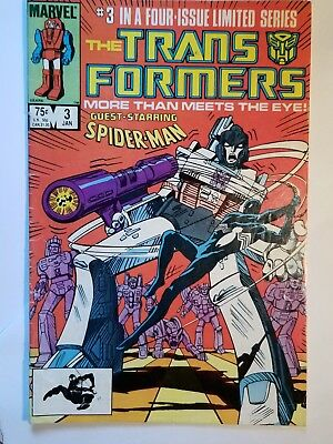 Transformers #3 VG January of 1985 Marvel