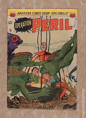 Operation Peril #10 1952 GD 2.0