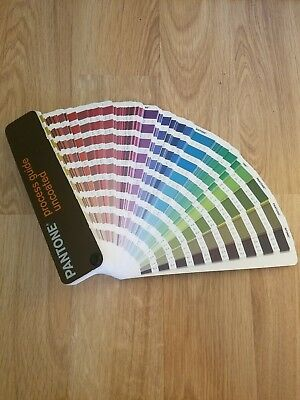Pantone Color Process Guide Uncoated Fan Booklet GOOD CONDITION