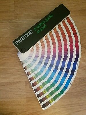 Pantone Color Process Guide Coated Fan Booklet GOOD CONDITION