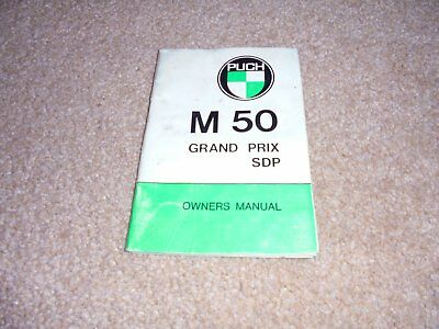 puch m50 grand prix owners manual m 50 moped m50gps