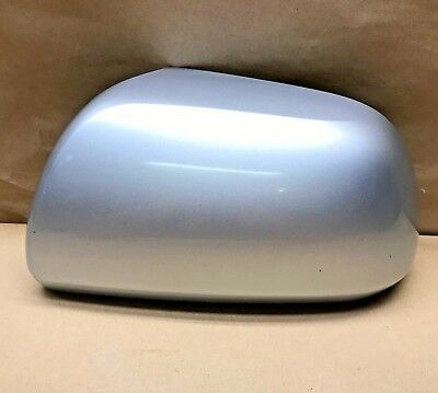 2008 09 10 11 12 2013 Toyota Highlander Left Side View Mirror Cover Silver OEM