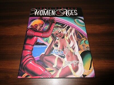 Virgil Finlay Women of the Ages HC VF/NM hardcover book from 1992