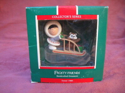 1989 Hallmark Frosty Friends 10th in Collector's Series in BOX with tags