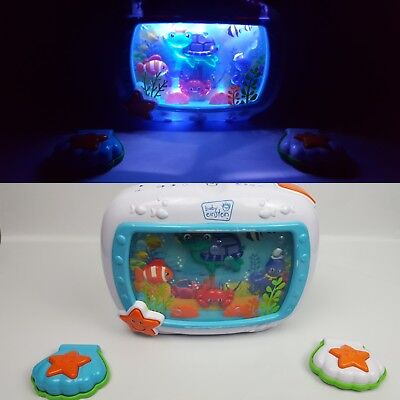 Baby Einstein Sea Dreams Soother Plush Toy + SeaDreams Soother 2 Remotes GUC
