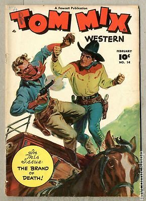Tom Mix Western (Fawcett) #14 1949 GD+ 2.5