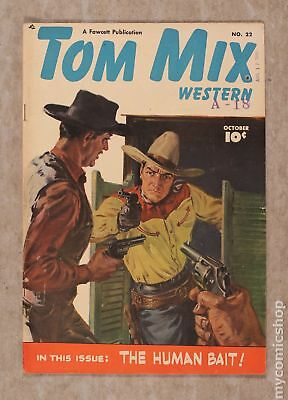 Tom Mix Western (Fawcett) #22 1949 VG/FN 5.0