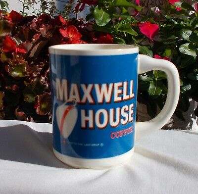 Vintage Maxwell House Coffee Cup USA Advertising