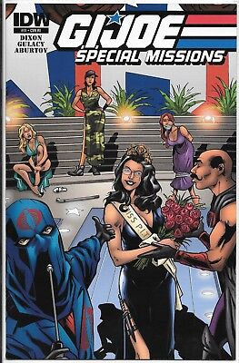 IDW GI Joe Special Missions 11-RI retailer incentive variant BARONESS cover 11ri