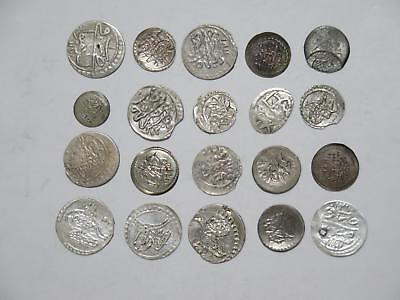 Egypt Turkey Ottoman Para Islamic Medieval Silver? World Coin Collection Lot #g