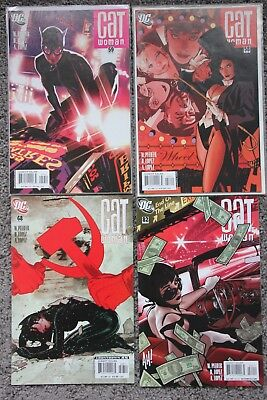 CATWOMAN LOT #58, 59, 68, 82, four issues Adam Hughes covers +Zatanna High Grade
