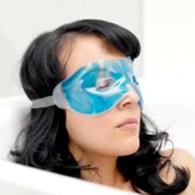 Relaxing Gel Eye Mask With Holes Accelerates Blood Circulation Around The Eyes
