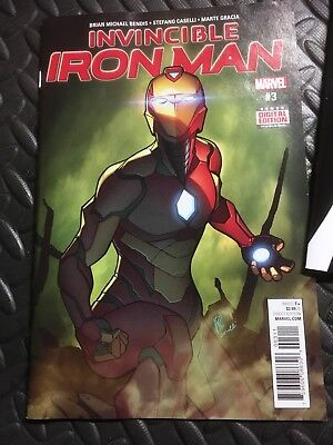 Invincible Iron Man issue #3 - Marvel comics