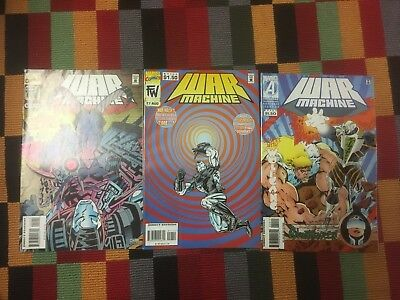 War Machine 12, 17, 20 - Iron Man Marvel Comics