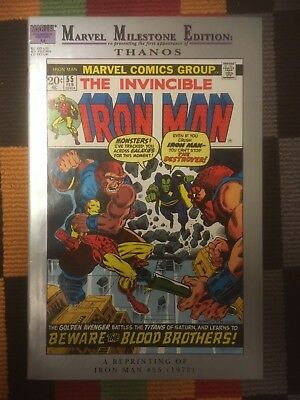 Iron Man 55 - Marvel Milestones - comics