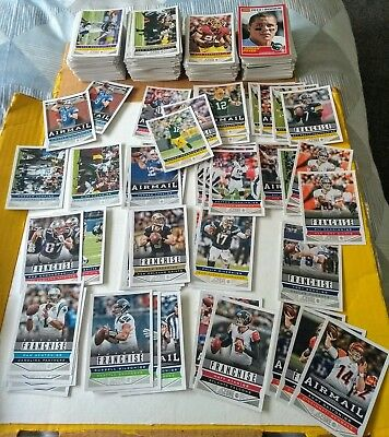 400 + 2013 Panini Score NFL football cards w/stars