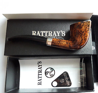Rattray's The Knight 67 Army Woodstock Pfeife Pipe 9mm Filter