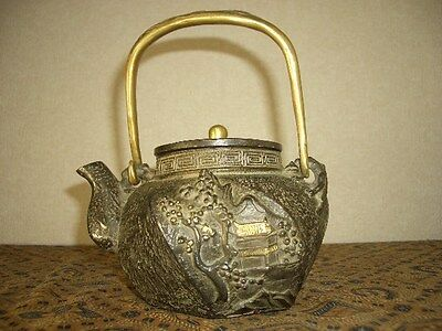 Tetsubin Iron Tea kettle (43)