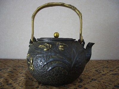 Tetsubin Iron Tea kettle (4)