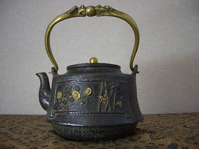 Tetsubin Iron Tea kettle (52)