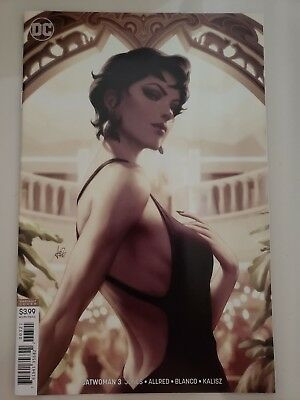 Catwoman #3 (2018) Dc Comics Incredible Variant Cover By Stanley Artgerm Lau Nm