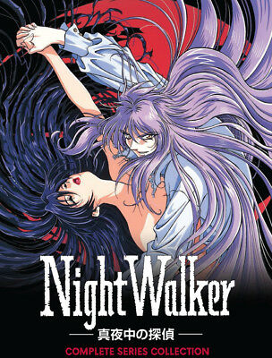 Night Walker The Midnight Detective Anime Collection Vampire RC0 2 DVDs