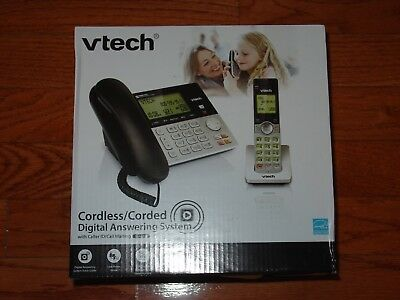 2d281e81c8af New Vtech CS6949 DECT 6.0 Corded/Cordless Phone w/ Answering System &  Caller ID