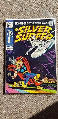 Marvel silver surfer number 4 thor cover kirby