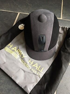 Never Worn - Harry Hall Riding Hat With Bag - Size 6.5