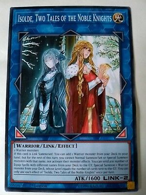 Isolde, Two Tales of the Noble Knights.Common..NICHT ORIGINAL.ORICA yugioh Proxy