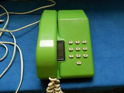 Viscount Green BT TelePhone from the 1980's working tested.