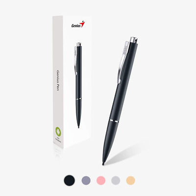 Genius Pen Smooth & Accurate Touch Retractable Hard Nib & Rechargeable Battery