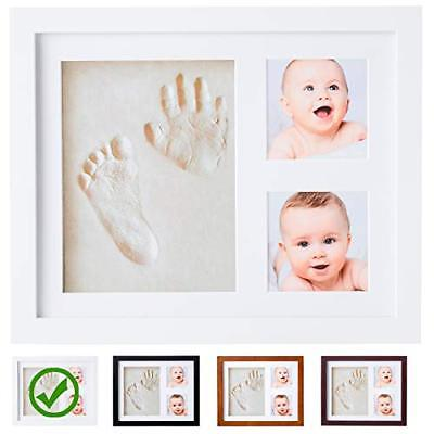 Baby Handprint Kit |NO MOLD| Baby Picture Frame, Baby Footprint kit, Perfect for