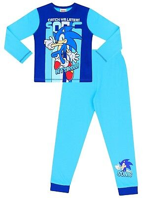 Sonic The Hedgehog Catch You Later Gaming Long Pyjamas
