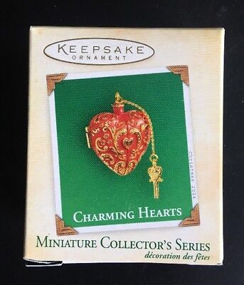 Hallmark Ornament: CHARMING HEARTS #2 - Dated 2004