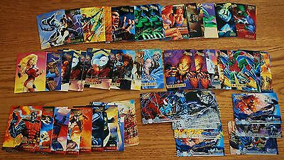 1995 Fleer Ultra Spider-Man SIGNATURE Card Singles Any 5 for $5.00 NM-M (U Pick)