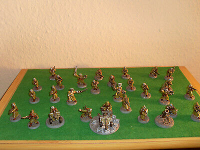 Warhammer 40k Imperial Armee Ice Warriors of Valhalla Zinn RAR