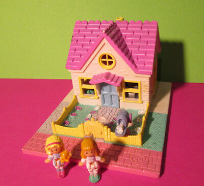 Polly Pocket Mini ♥ Haus ♥ Cozy Cottage Pollyville ♥ 100% complete ♥ 1993 ♥