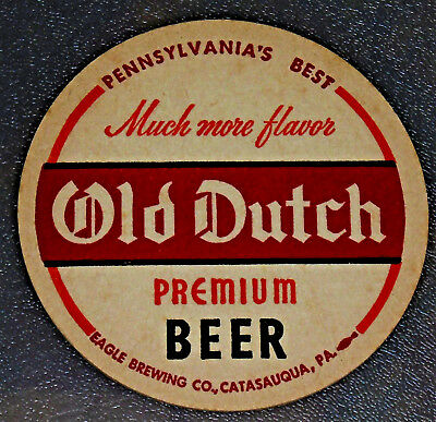 10 Old Dutch Much More Flavor  Eagle Brewing Co. Beer Coasters