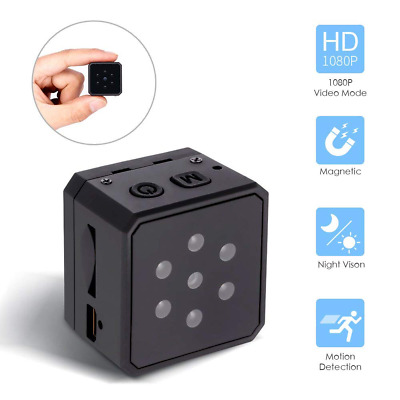 Mini Spy Hidden Camera 1080P DVR Portable HD Night Vision Motion Detection USA