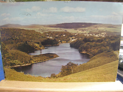 Postcard Loch Faskally and Pitlochry, Perthshire, 1962, Dixon