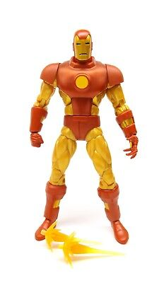 "Marvel Legends 6"" Inch Vintage Retro Classic Iron Man Loose Complete"