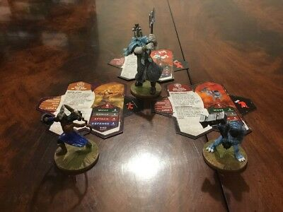 Heroscape Wave D3 Icewind Ice Wind Scourge Moltenclaw's Invasion Expansion