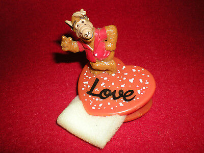 ALF Figur Herz Clip LOVE Null Problemo Bully West Germany 1988