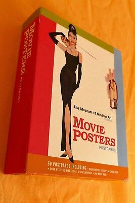 "48 alte AK Film Postkarten Poster ""Movie Posters Postcards""Museum of Modern Art"
