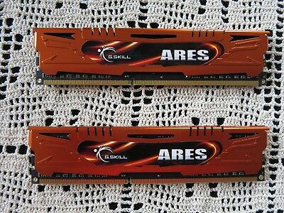 G.Skill Ares 2 x 8 GB DDR3-1600 CL10-10-10-30