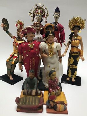 Bali and Jakarta Doll Collection Lot